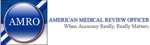 American Medical Review Officer Retina Logo